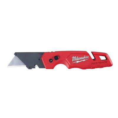 限量特價米沃奇FASTBACK折疊快背美工刀48-22-1502剝線美工刀