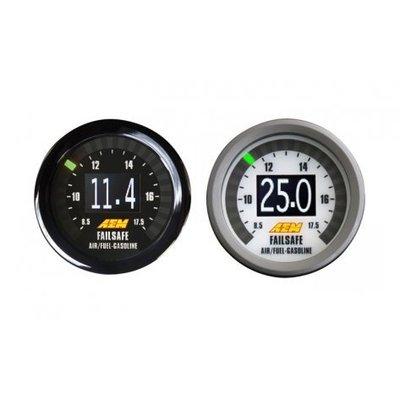 =1號倉庫= AEM 數位 2 BAR 渦輪錶 廣域 AFR 空燃比錶 LSU 4.9 感知器 二合一