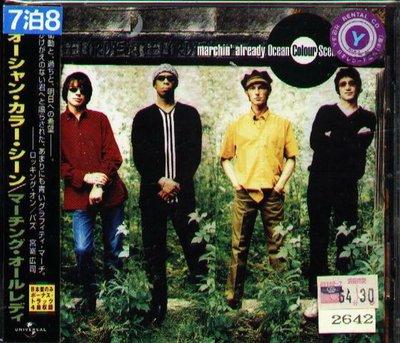K - Ocean Colour Scene - Marchin Already - 日版 CD+4BONUS+OBI