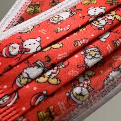[韓娜]限量款聖誕?趴4片ㄧ組交換禮物?選這個平面耶誕趴成人口罩ㄧ次性拋棄式非醫有光澤質感戴美麗開心❤️ (搜尋?韓娜口罩)更多絕美中絕版款等您來收藏