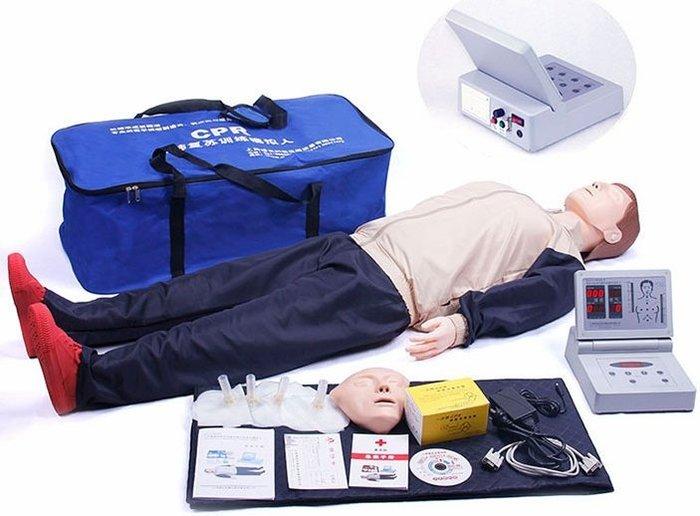 《宇煌》安妮全自動電腦CPR復甦模擬人_R390型*1_多功能假人*2_客訂制