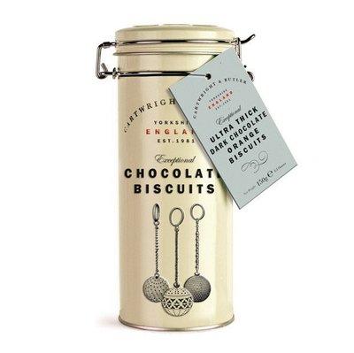 [要預購] 英國代購 英國CARTWRIGHT & BUTLER 黑巧克力香橙餅乾 190g