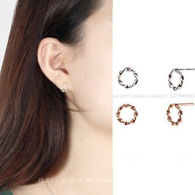 【韓Lin連線代購】韓國 GET ME BLIN- 明星同款抗敏925銀耳環 MELLOW