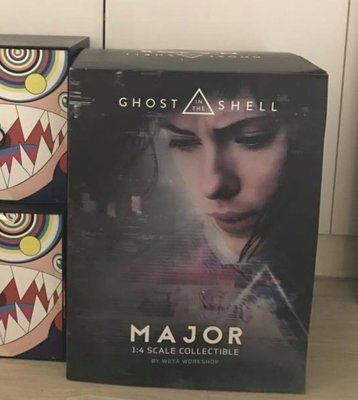 Weta Major 攻殼機動隊  1:4 Ghost in the Shell Figure Scarlett Johansson