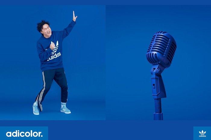 ☆丸子精品舖☆【adidas Originals Oversize Crew 陳奕迅代言 CW1238 三色 】正品現貨