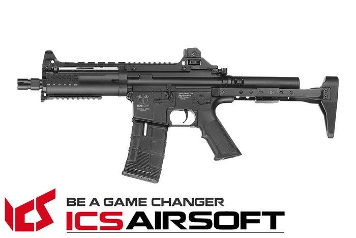 【翔準軍品AOG】ICS CXP-08 概念槍(黑) QRS托 Lightway 生存遊戲 ICS-160