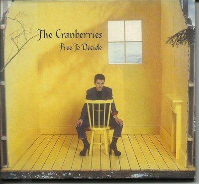 THE CRANBERRIES /小紅莓合唱團 Free to Decide 單曲EP