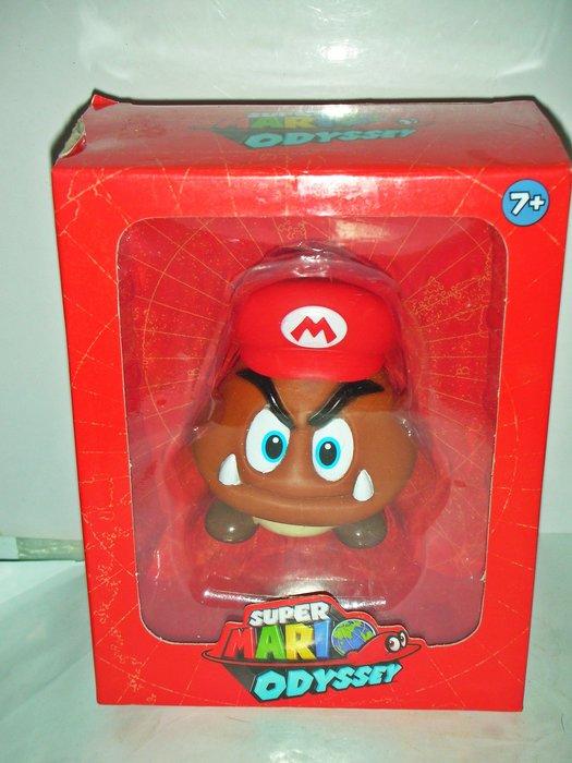 aaL皮1商旋.(企業寶寶玩偶娃娃)全新附盒超級瑪利歐(瑪莉歐)-蘑菇公仔!/大1/-P