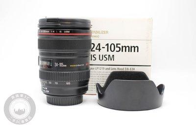 【高雄青蘋果3C】CANON EF 24-105MM F4 L IS USM UW鏡 二手鏡頭 #62706