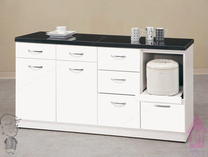 【X+Y時尚精品家具】現代碗盤櫃系列-雅典娜 5.2尺石面收納櫃下座.餐櫃.置物櫃.碗碟櫃.摩登家具