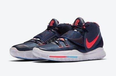 【吉米.tw】NIKE KYRIE 6 IRVING KI 藍色 美國隊 奧運配色 籃球鞋 BQ4631-402 MAY