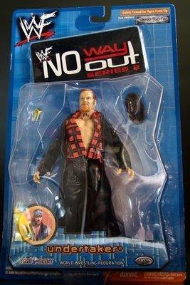 2001 JAKKS 美職摔角 WWF 系列  之 NO WAY OUT SERIES 2 【 送葬者 馬克 威廉 -