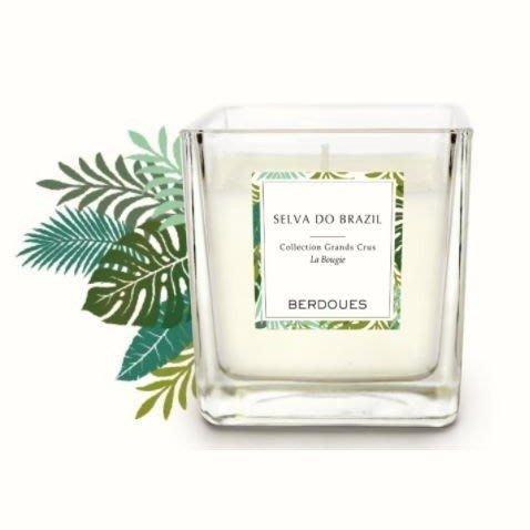 法式香氛手工蠟燭-巴西熱帶雨林180G(隨機贈送YANKEE 祈禱燭49g)