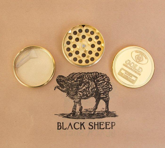 黑羊選物 研磨器 碎菸器 菸草 捲菸用 三層研磨器 輕便好用 gold grinder 精細復刻 不失帥氣