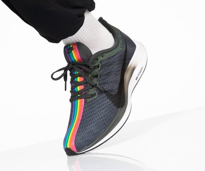 R'代購Nike Zoom Pegasus Turbo Be True 彩虹 CK1948-001 男女段 BeTrue