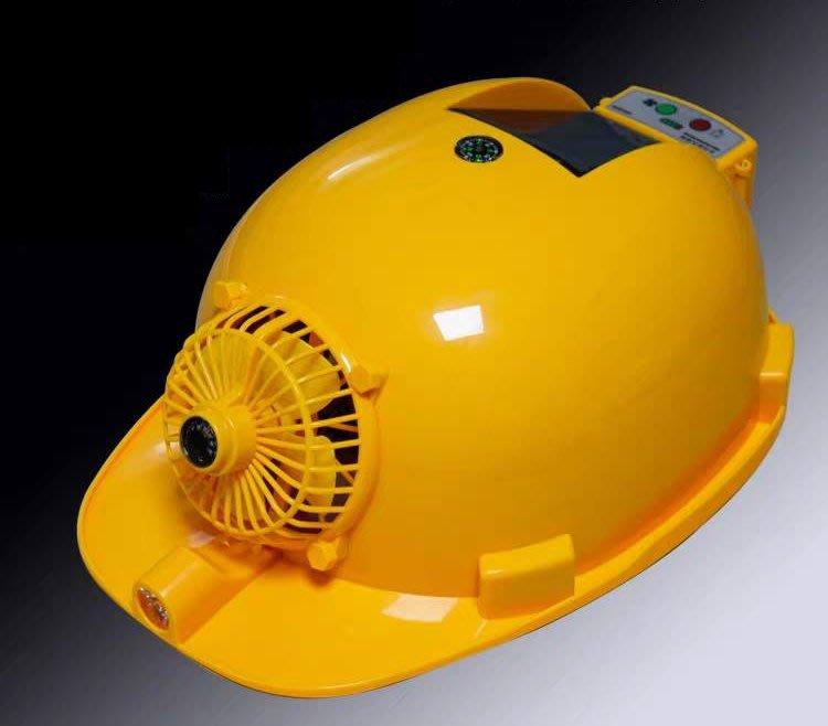 雙供電 太陽能風扇安全帽 通風 降溫 防曬 太陽能風扇帽 西瓜皮 半罩 工地帽