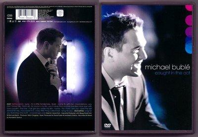 音樂居士#麥可布雷 Michael Buble Caught in the Act () DVD