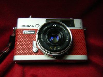 KONICA C35 FLASHMATIC 38mm f2.8 (疊影對焦)