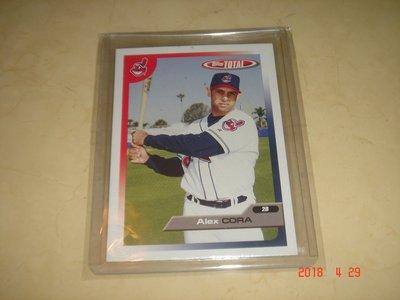 美國職棒 Red Sox Manager Alex Cora  2005 Topps Total  球員卡