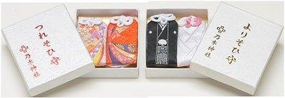 哈哈日貨小舖~日本 東京 六本木 乃木神社 新婚 夫妻 新郎新娘 御守(1盒2個,2款可選)