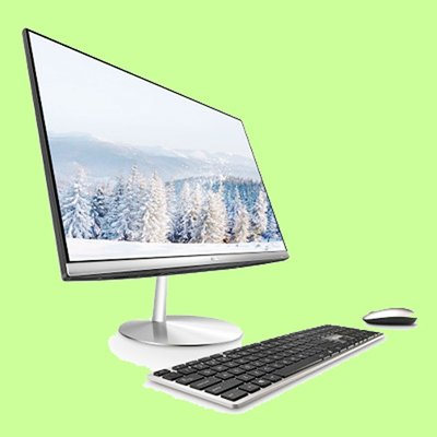 5Cgo【聯強】華碩 Zen AiO Pro 24型8代i5雙碟液晶電腦ZN242GDK-830CA001T無觸控含稅