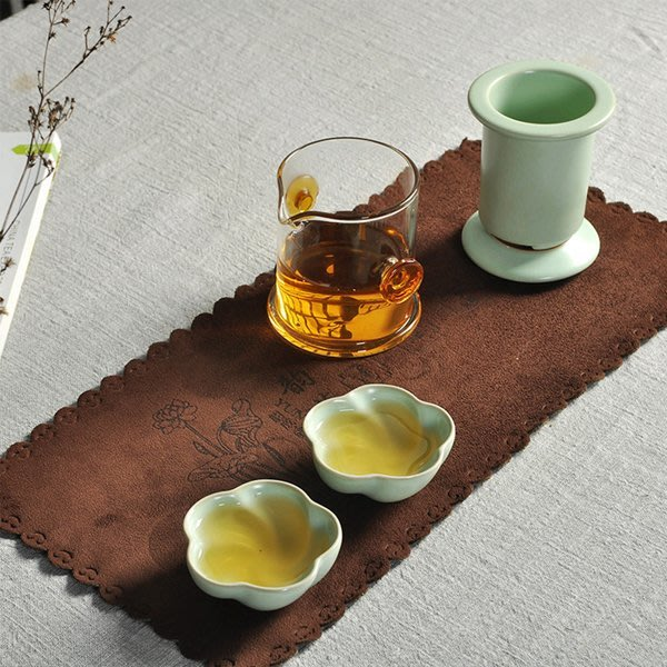 5Cgo【茗道】含稅會員有優惠 44193473377 開片汝窯茶具快客杯耐熱玻璃陶瓷旅行便攜普洱茶紅茶泡帶內膽過濾泡茶