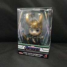 Hot Toys Cosbaby 系列 The Avengers Version Loki with Scepter 權杖版