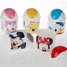 【莓莓小舖】正版 ♥ Disney 迪士尼 桌上型圓形平衡蓋垃圾筒 唐老鴨 小熊維尼 米奇米妮 垃圾桶