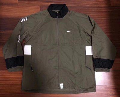日本descendant新款AW18 terrace nylon jacket 軍装綠色外套風衣夾克