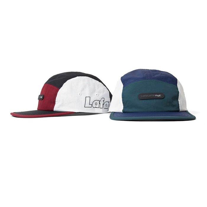 { POISON } LAFAYETTE CLASSICAL NYLON CAMP CAP 90年代風格五片帽