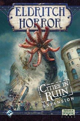 大安殿實體店面 Eldritch Horror Cities in Ruin 全球驚慄 廢墟城  遺跡之城 正版益智桌遊