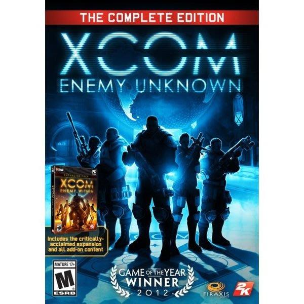 【傳說企業社】PCGAME-XCOM:未知敵人完全版含內在敵人資料片(中文版)