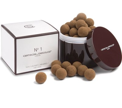 (預購)Artisan du Chocolat NO1 海鹽焦糖黑巧克力 original chocolate salted caramels 130g