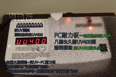 UV400抗紫外線~保用5年以上】 PC耐力板 透明顆粒 3mm 每才72元 防風 遮陽 PC板 ~新莊可自取