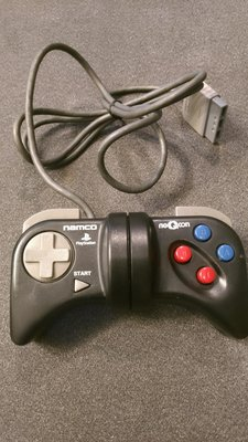 售超稀有 PS1/PS2 實感賽車系列 原廠專屬搖桿手把 namco