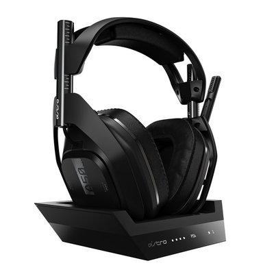 羅技 ASTRO A50 無線電競耳機麥克風/無線基座控制臺/無線/Dolby環繞音效