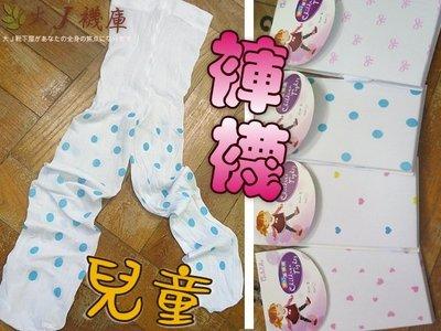 O-83-1兒童花紋褲襪【大J襪庫】夏天透膚薄天鵝絨-跳舞襪啦啦隊合唱團-女童襪包腳褲長襪1-3歲-星星點點白色-台灣製