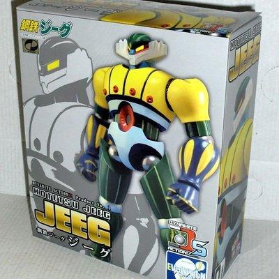 金錢貓雜貨 全新 Evolution Toy S No 1 JEEG 金剛飛天鑽 鋼鐵吉克 鋼鐵神