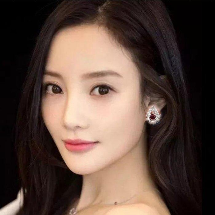 氣質韓國個性百搭耳環水滴耳夾潮簡約創意冷淡風106