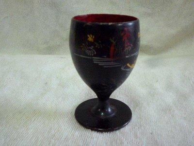 黑色小館~~~~~漆器....木杯子~~~~~B1