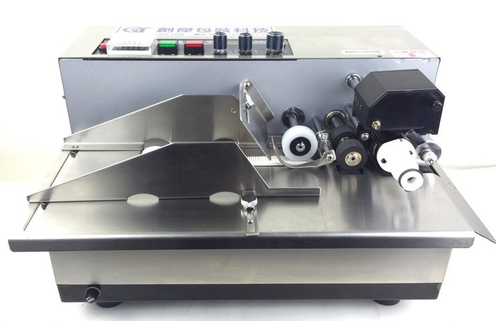 創傑包裝科技 CJ-350FL 連續自動印字機 (加寬型) 標示機 快速連續印字機*工廠直營*台灣製*工廠在台南*