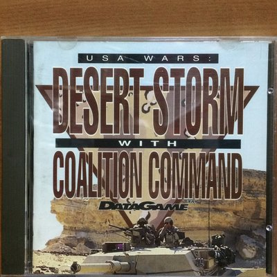 Game Desert Storm With Coalition Command (PC,DOS,1992) (US)