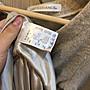 小花別針、專櫃品牌【BE RADIANCE】日本假兩件氣質甜美上衣