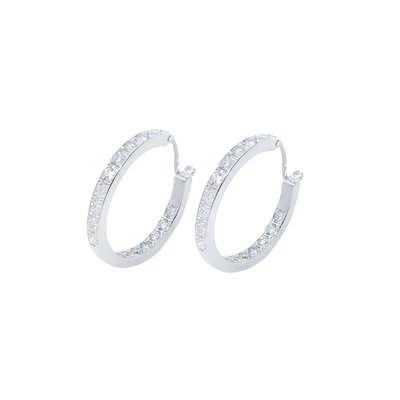 【JHT金宏總珠寶/GIA鑽石專賣】0.48ct*2天然鑽石耳環/材質:18K(JB51-A17)