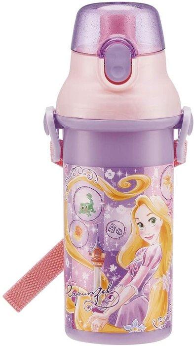 日本製 迪士尼 長髮公主 444678 直飲水壺彈蓋式水壺 480ml  同系列水壺4款合購免運