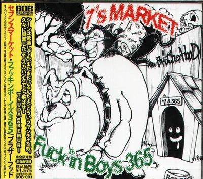 K - 7's MARKET/F**k'in Boys 365 - brotherhood - 日版 - NEW