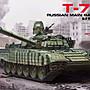 MENG TS- 033 拼裝模型 1/ 35 俄羅斯 T- 72B1 ...