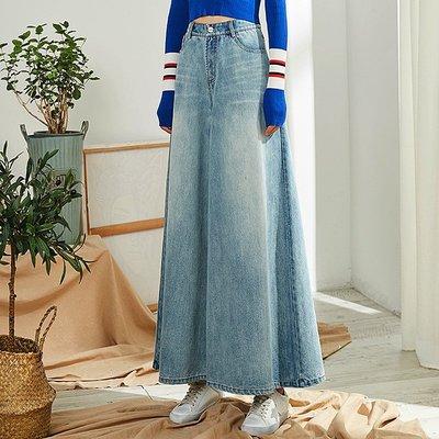 ✨Space.Stroll✨【G0128】  淺藍牛仔大寬褲【預購-淺藍】
