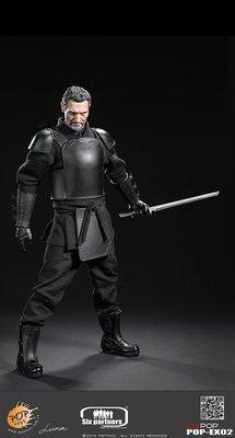 JAMES ROOM#蝙蝠俠 黑暗騎士POPTOYS新品: 1/6 EX02 影子聯盟首領 影武者忍者大師 -盔甲版