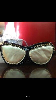 鑲鑽造型眼鏡包